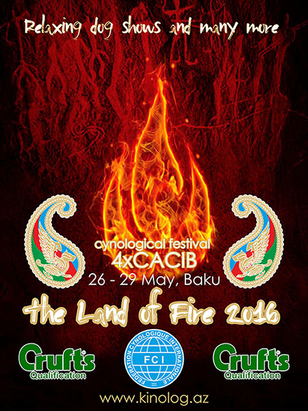 THE LAND OF FIRE 2016 CYNOLOGICAL FESTIVAL 26-29 MAY 4xCACIB Land_of_fire2016